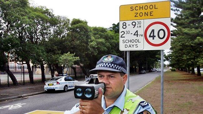30 km/h speed zone