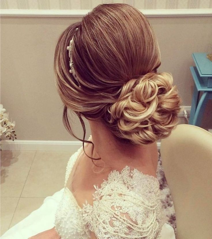 Penteados para noivas Coque clássico | Cabelo de noiva, Penteado noiva, Penteado noiva preso