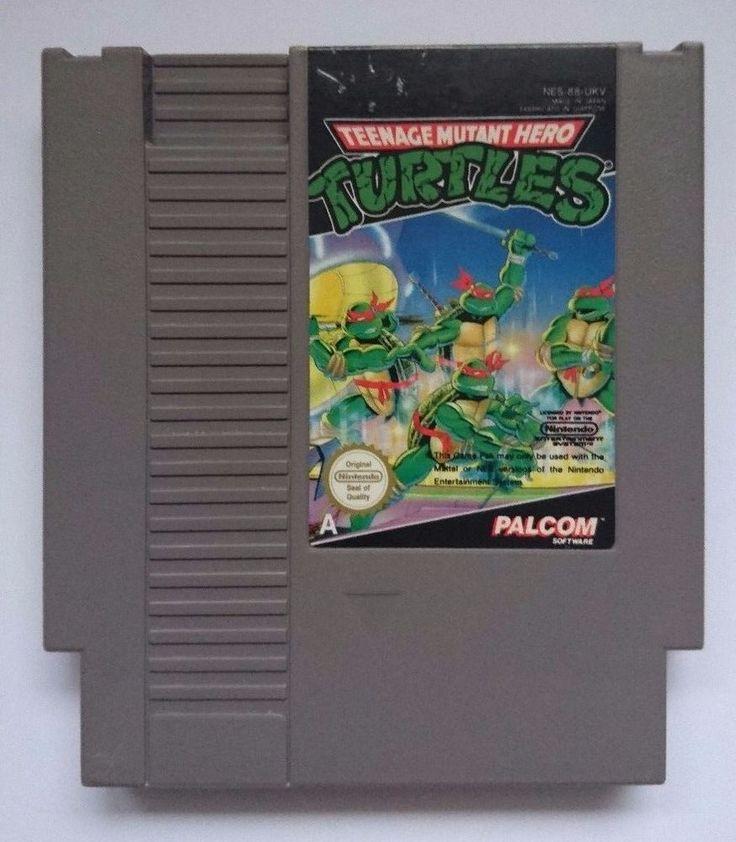 Teenage Mutant Hero Turtles TMNT Video Game for Nintendo NES TESTED
