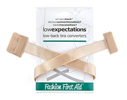 Fashion First Aid Women's Low Expectations Low Back Bra Converters with 2 Hooks, Beige, One Size Fashion First Aid http://www.amazon.com/dp/B00519BDV0/ref=cm_sw_r_pi_dp_7Ulgvb177YWEP