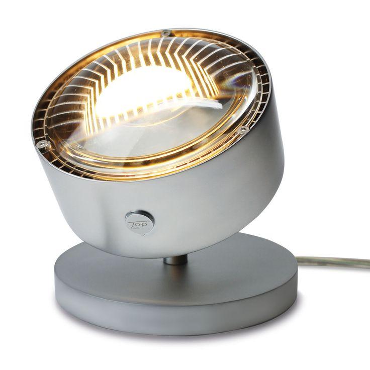 Good Puk Spot LED Tischleuchte Glas chrom matt Jetzt bestellen unter https moebel ladendirekt de lampen tischleuchten beistelltischlampen uid udbf e