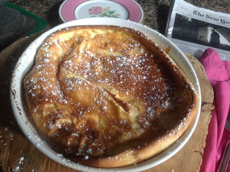 Dutch Babies are puffy golden oven-baked pancakes that are often called German pancakes. Once the batter is made, the pancake bakes itself in the oven and is served directly from the baking dish. …