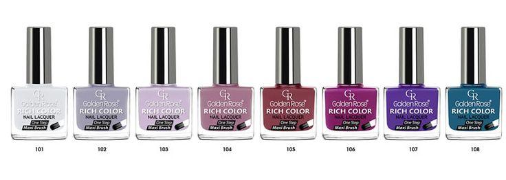 <b>Лак для ногтей Golden</b> Rose Rich color | Nails | Ногти, Лак для ...