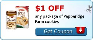 New Coupons: $1/1 Pepperidge Farm Cookies Plus More! http://ginaskokopelli.com/new-coupons-11-pepperidge-farm-cookies-plus-more/