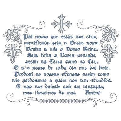 ORAÇÃO PAI NOSSO 17 CM