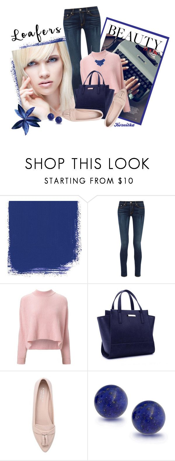 """""""nr 90 / Loafers"""" by kornitka ❤ liked on Polyvore featuring rag & bone, VIVETTA, Carvela, Bling Jewelry and Heroldian Jewellery"""