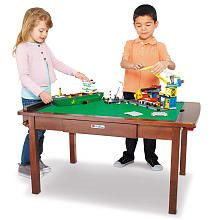 "$99.98 Imaginarium LEGO Creativity Table - Espresso - Toys R Us - Toys ""R"" Us"