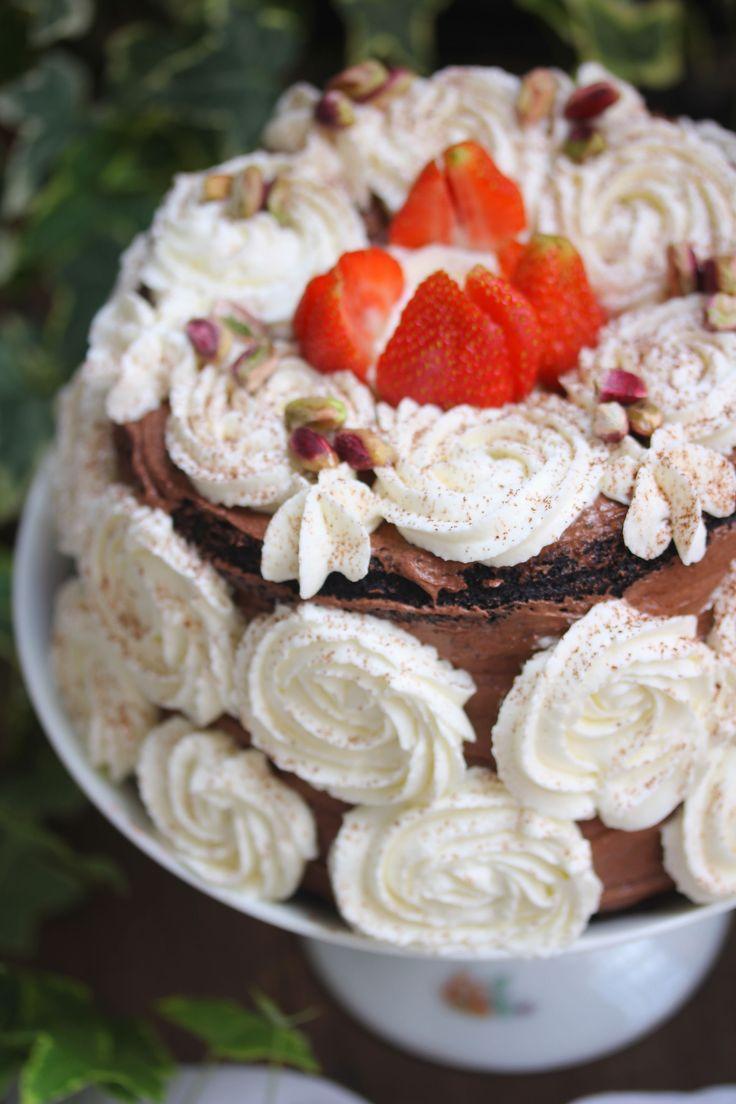 Chocolate Devil Cake al caffè