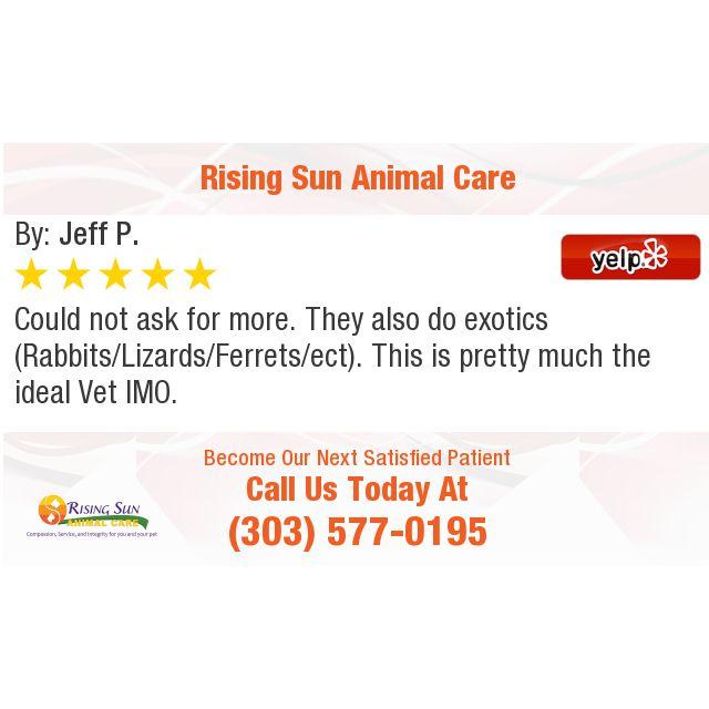 Pin On Rising Sun Animal Care Reviews News