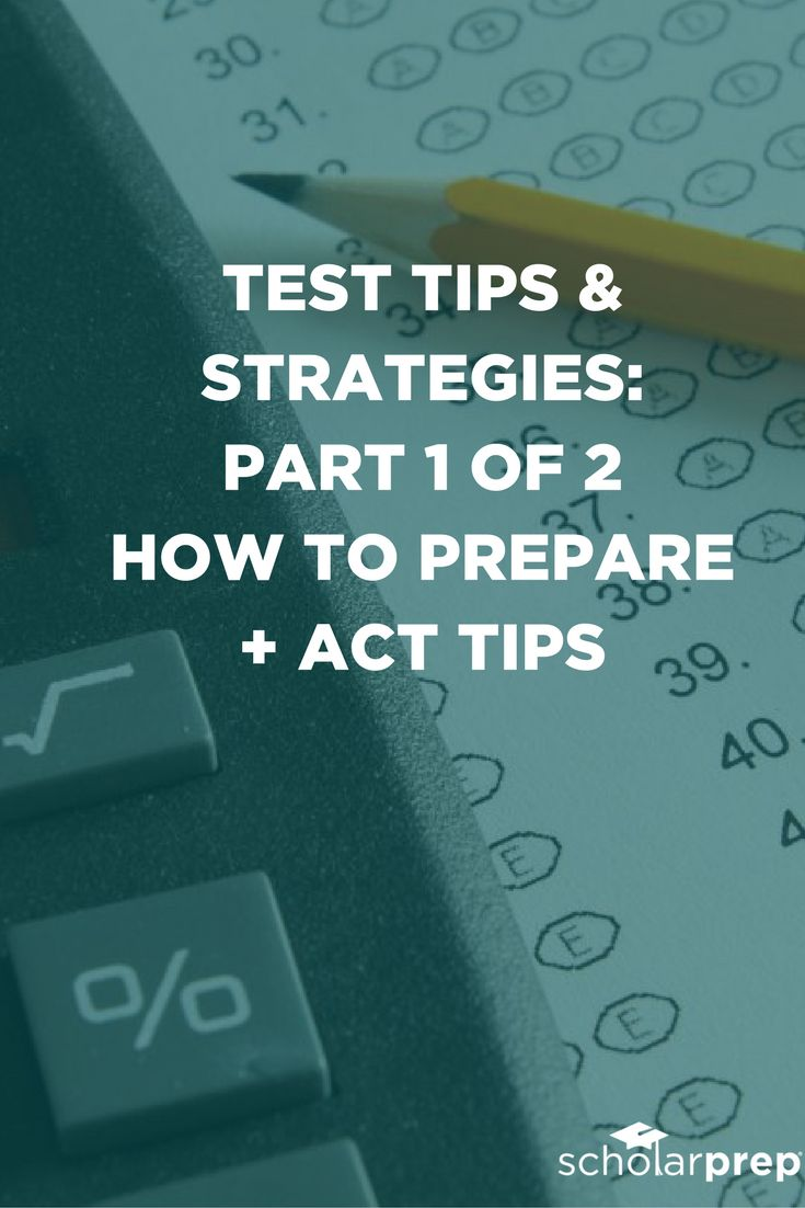 Test Preparation - The ACT Test