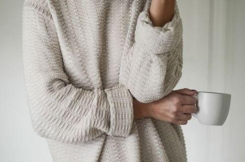 coffee + cozy sweaters