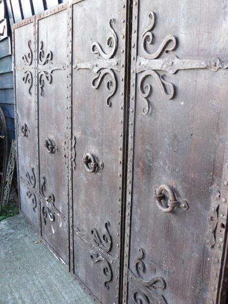 antieke kasteeldeuren - Geëtst glas - Collection - Benko oude antieke bouwmaterialen