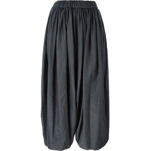 Comme Des Garçons Balloon Pants (635 CAD) ❤ liked on Polyvore featuring pants, grey, comme des garçons, balloon pants, gray pants, grey pants and grey trousers