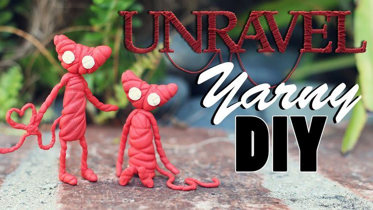 Unravel: Yarny DIY | Polymer Clay Tutorial