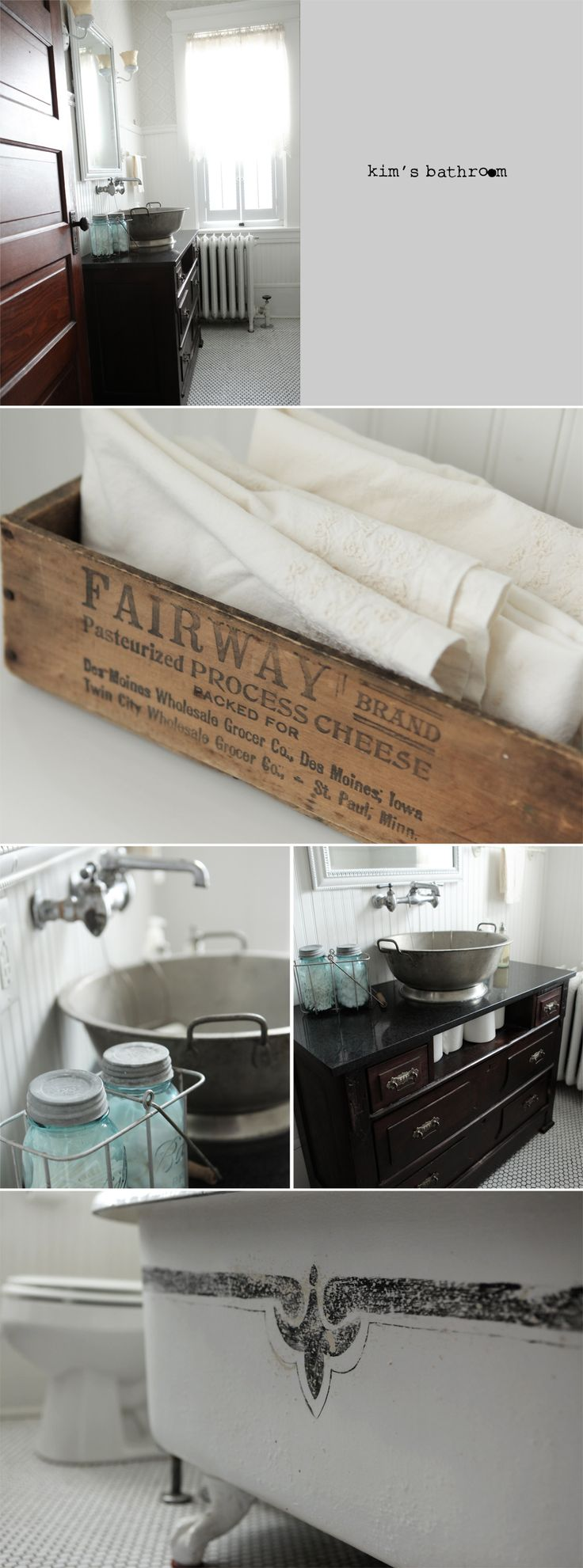 108 best Home Decor - BATHROOMS images on Pinterest | Bathroom ...