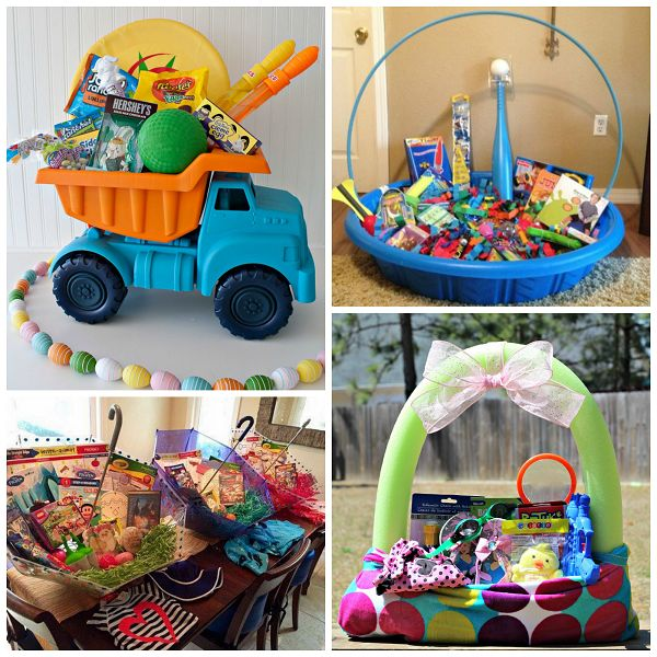 32 best easter images on pinterest easter ideas easter baskets instead of grabbing the same old wicker easter basket from the store switch it up negle Gallery