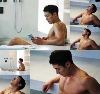 So Ji Sub in bathtub scenes for 'Oh My Venus.'