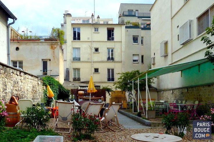 Au fond du jardin - paris 20e