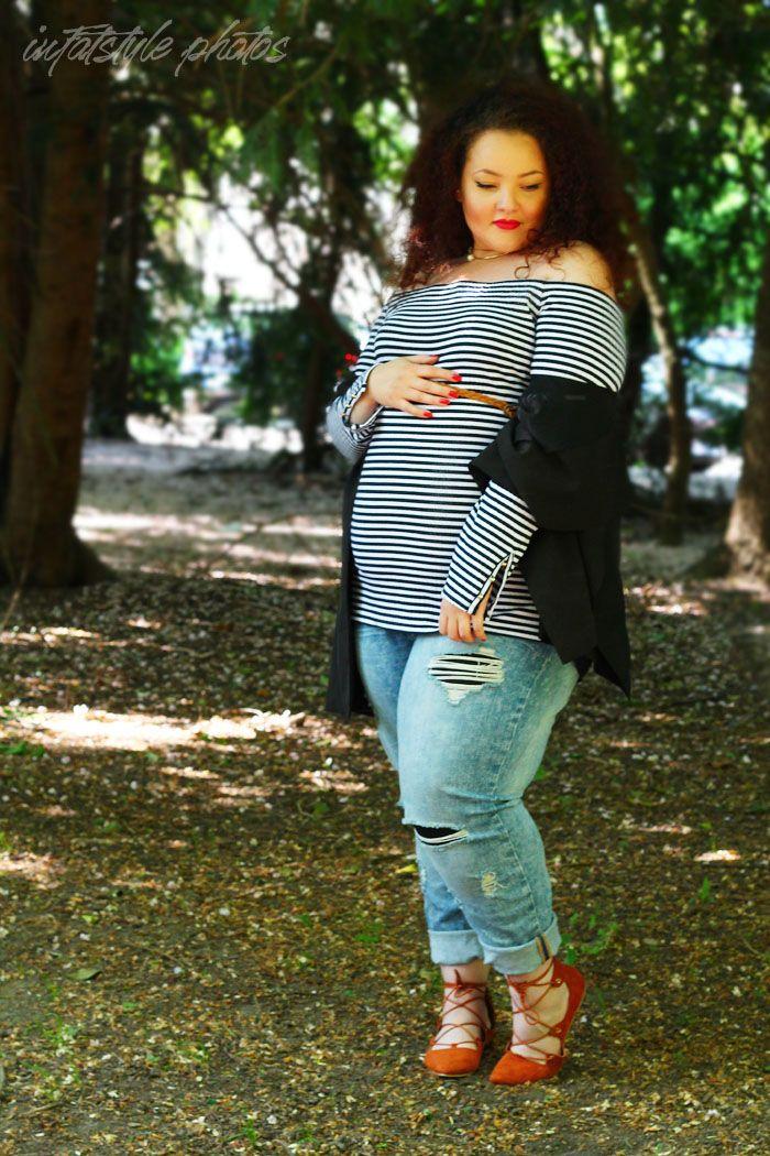 Nach endloser Recherche habe ich einiges über Plus Size Maternity Wear (Übergrößen-Schwangerschafts Kleidung) gelernt habe. Zum einen lernte ich dass MODE (in ihrem Sinne) in