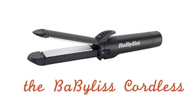 babyliss cordless straightener.....perfect for camping or to keep in the car