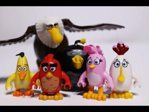 The Angry Birds Movie LEGO mini figures collection video https://youtu.be/lBudvuAVP3U