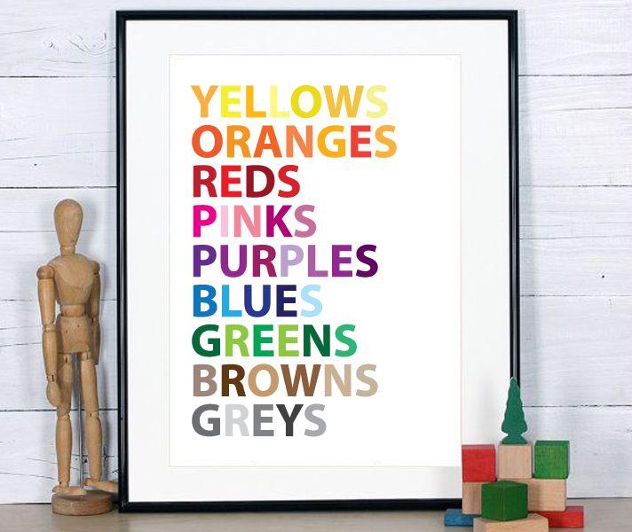 Nunu Prints - Rainbow Colours