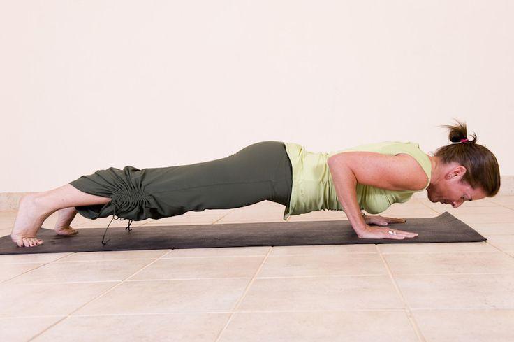 Four-Limbed Staff Pose (Chaturanga Dandasana)