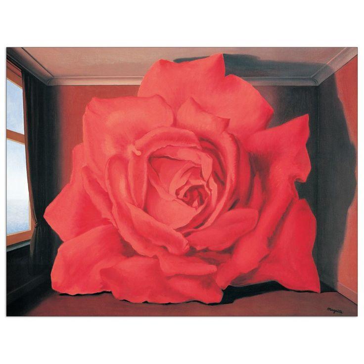 MAGRITTE - Le tombeau des lutteurs 82x64 cm #artprints #interior #design #art #print #Magritte  Scopri Descrizione e Prezzo http://www.artopweb.com/EC16581