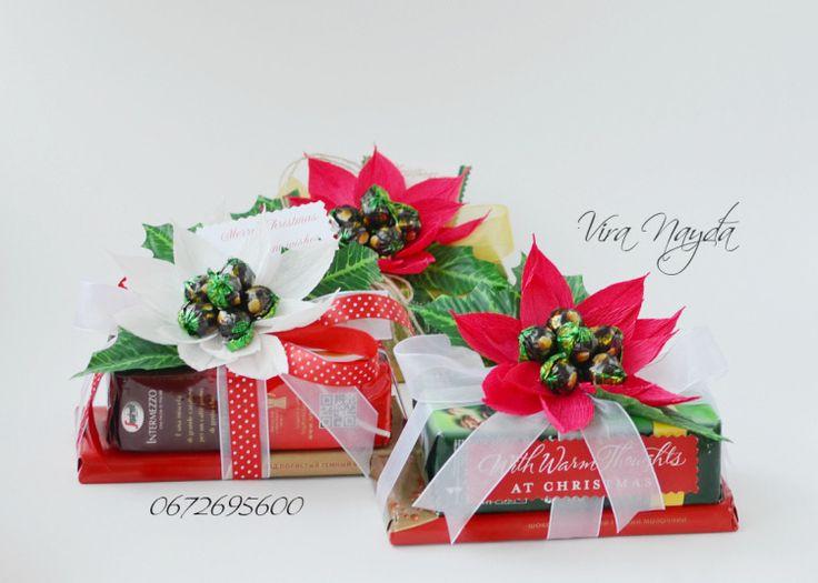 Gallery.ru / Фото #19 - Невеликі букетики та оформлення коробок цукерок - viranayda