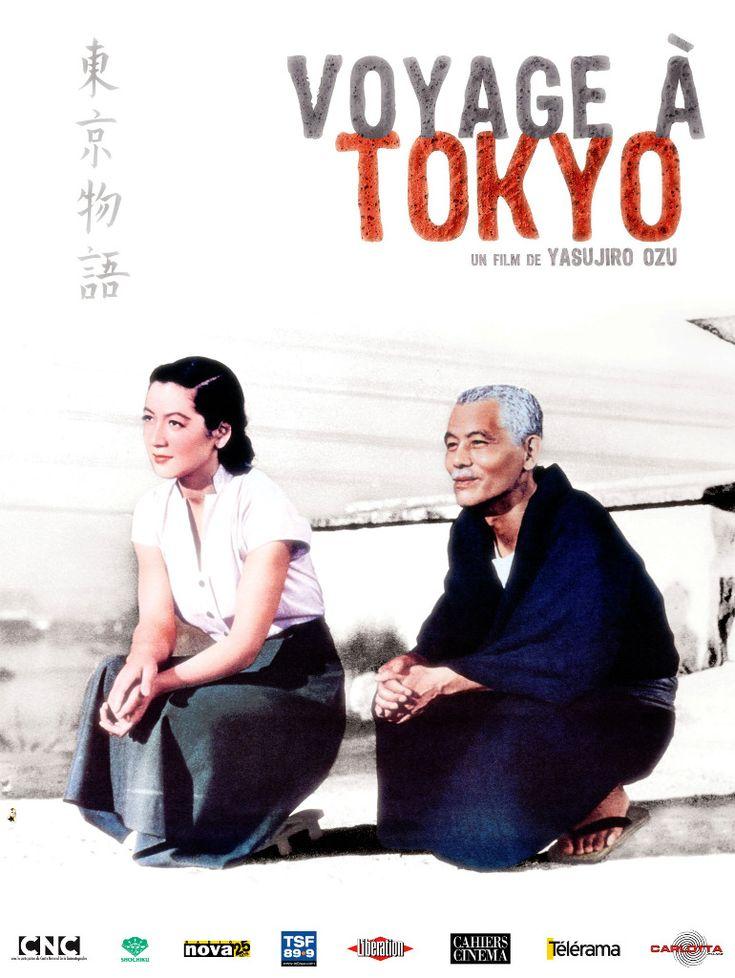 Voyage à Tokyo est un film de Yasujirô Ozu de 1953 avec Chishu Ryu, Chieko Higashiyama. Synopsis : Un couple de personnes âgées rend visite à leurs enfants à Tokyo. D'abord reçus avec les égards qui leur sont dûs, ils deviennent bientôt dérangeants dans leur vie quotidienne.