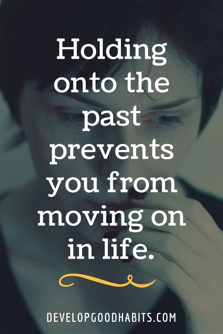 letting go of the past and moving forward in a relationship