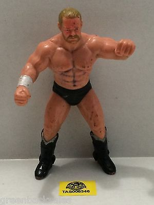 (TAS005346) - WWE WWF WCW nWo Wrestling Galoob Action Figure - Barry Windham