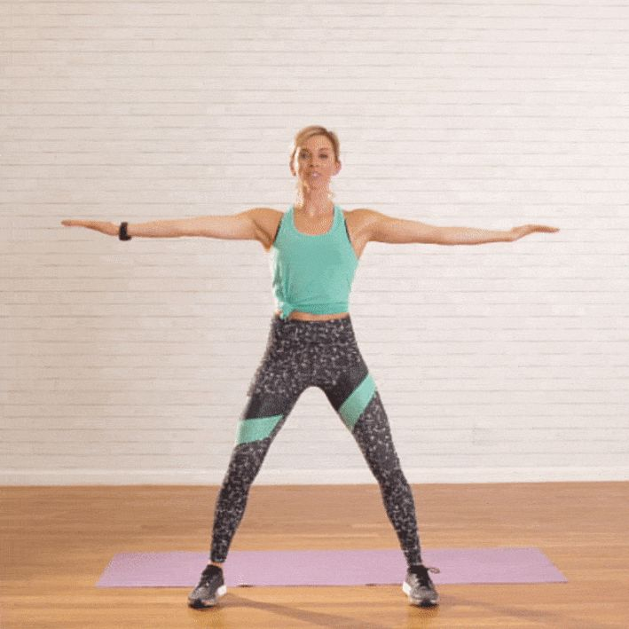 2-минутная тренировка для сильных рук