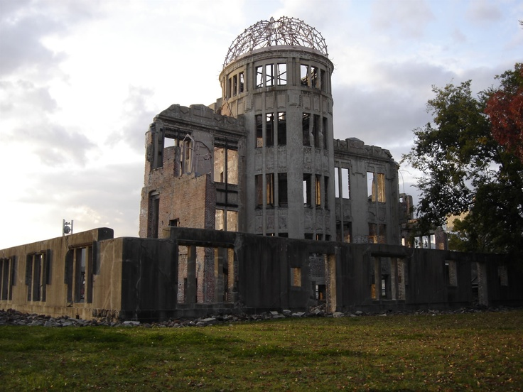 Hiroshima Peace Memorial (Genbaku Dome), Hiroshima Prefecture, Japan. Inscription in 1996. Criteria: (vi)