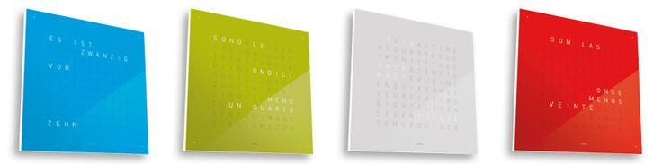 QLOCKTWO CLASSIC BY BIEGERT & FUNK