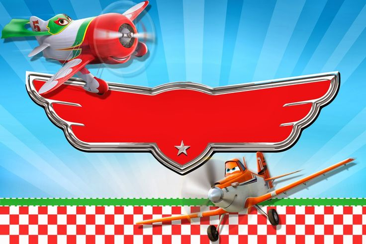 Planes (Disney): Free Printable Cards or Invitations.
