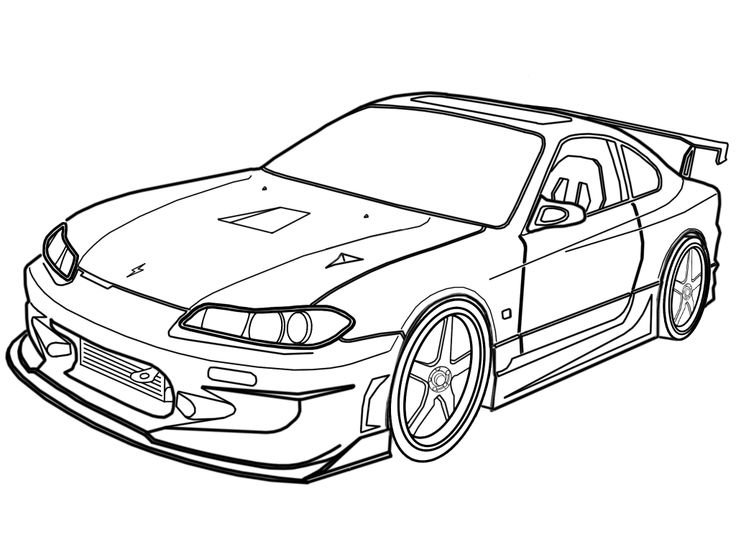 R34 Nissan Drawing Fast 4 Gtr And Furious Skyline