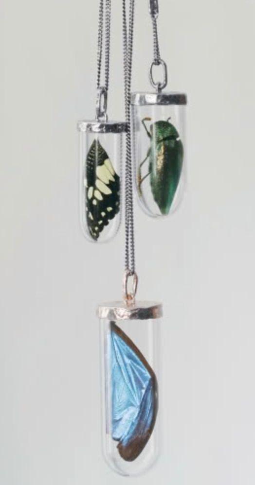 Entomology necklaces / Bjorg
