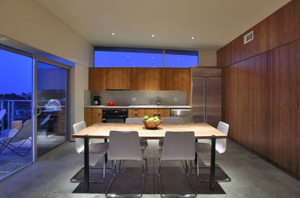Minimalist Kitchen Interior Design In California House - pictures, photos, images