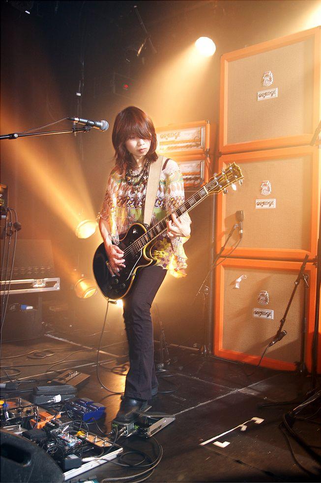 Wata from Boris. All that Orange...drool. | Guitarists ...