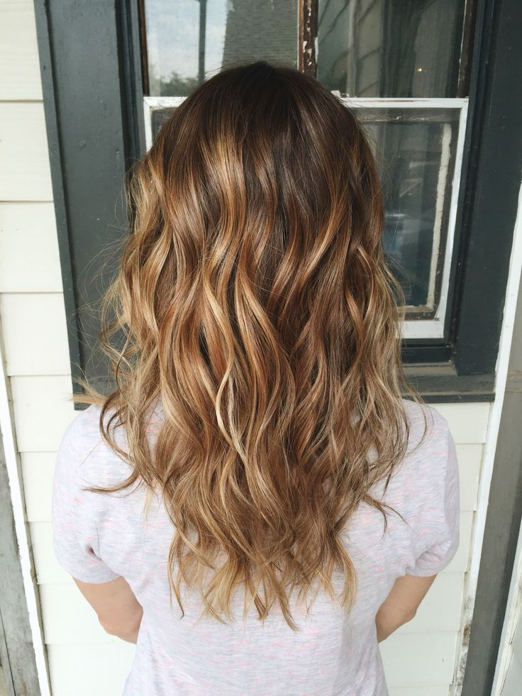 Golden Auburn Autumn Balayage Balayage Hair