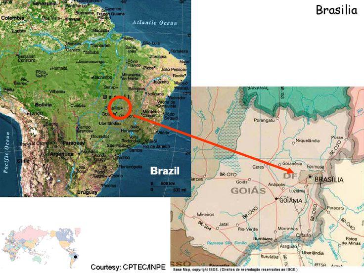 Brasilia Map Google - Google map of brazil