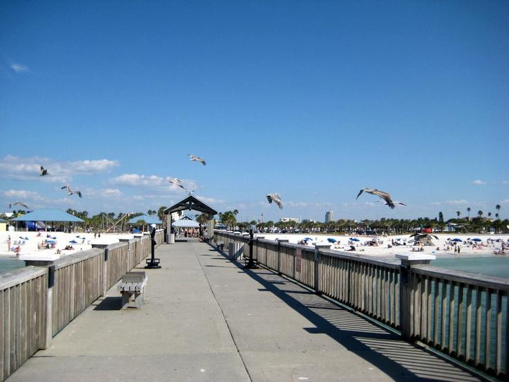 Clearwater Beach pier: Clearwater Beach