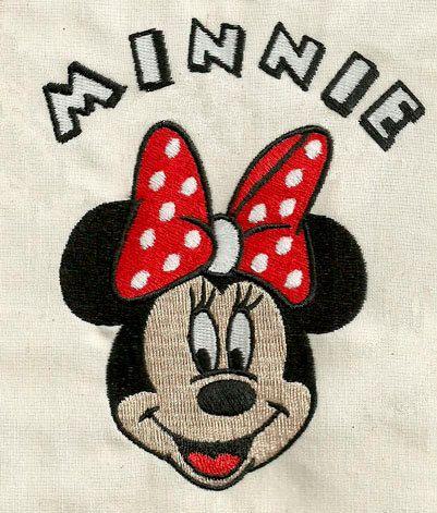 elizabethk314 - Minnie 045 - Machine Embroidery Design  (shipping via email)