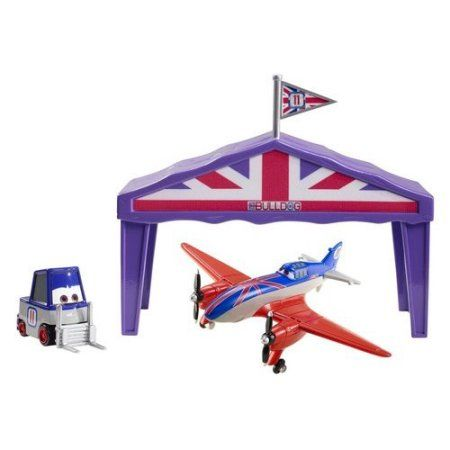 Disney Planes Pit Row Gift Pack, Bulldog, Multicolor
