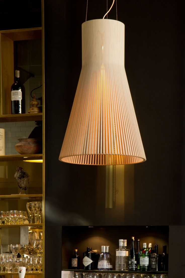 Our grand Magnum 4202 pendant at Cafe & Restaurant De Plantage in Amsterdam, The Netherlands. Architecture by Studio Linse. Photo by Ellen Swaan.