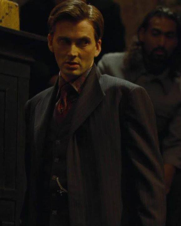 Barty Crouch Jr....David Tennant.....The Doctor....the world just exploded.