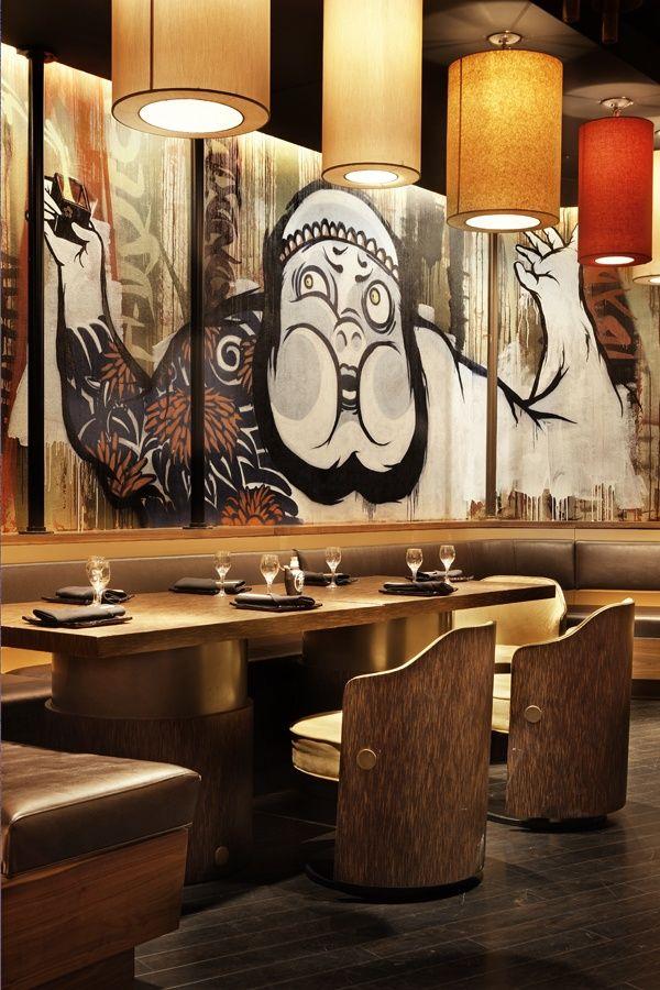 interior of sushisamba strip in las vegas restaurants pinterest interiors. Black Bedroom Furniture Sets. Home Design Ideas