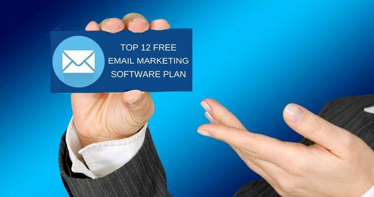 Top 12 Free Email Marketing Software Plans You might skyrocket your startup using them.