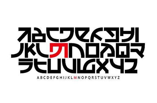 Mudam typography by Oliver Peters (Ott+Stein)
